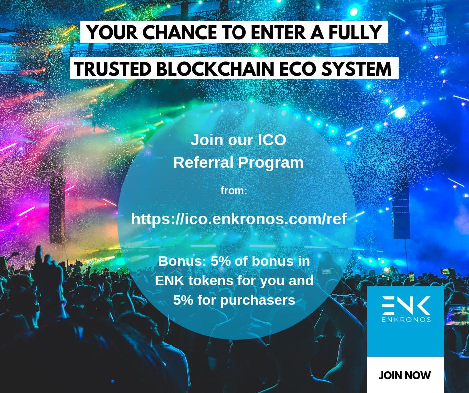 enkronos.com - gluca - Join Enkronos ICO Referral Program!